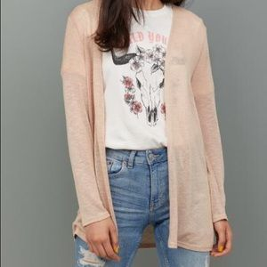 H&M Basics Cream Cardigan